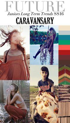 TREND COUNCIL SS 2016- CARAVANSARY  #üçgengezegenler #fashion #trends