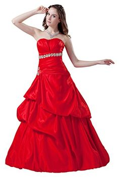 DBBRIDL Red A-Line Fashionable Delicate Strapless The Taf... https://www.amazon.com/dp/B016XV482A/ref=cm_sw_r_pi_dp_x_R3kfybN5EZZ05