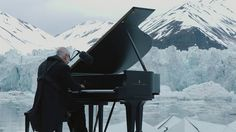 Greenpeace holds a historic performance with pianist Ludovico Einaudi on...