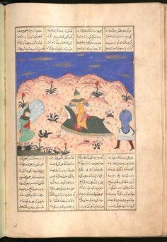 Firdausī: Šāhnāma - BSB Cod.pers. 8. - Iran, 1497 [902 h.] 61 Bayerische Staatsbibliothek