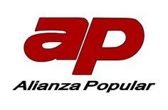 Logotip d'Alianza Popular (1976-1989)