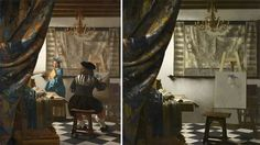 artist Jose Manuel Ballester removes the people from classic paintings revealing unnoticed hidden spaces - (Espacios occultos) Pablo Picasso, Guernica, Hidden Spaces, The Birth Of Venus, Francisco Goya, Famous Artwork, Colossal Art, Classic Paintings, Spanish Artists