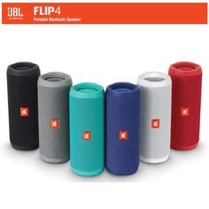 JBL® Flip4 Wireless Bluetooth Speaker Music Kaleidoscope 4 Audio Waterproof