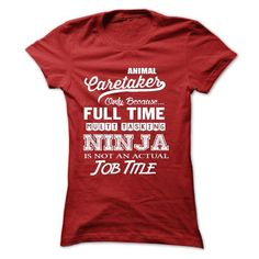 Animal Caretaker T Shirts, Hoodies. Get it here ==► https://www.sunfrog.com/LifeStyle/Animal-Caretaker-61491523-Ladies.html?57074 $21.99