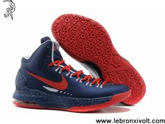 more photos f538a f129b Buy Discount Nike Zoom KD V 5 Royal Blue Red Basketball Shoes Your Best  Choice Kobe