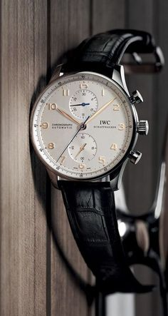 """Meaning """"invincible"""" in Latin, Invicta watches were really made as early as Creator Raphael Picard wanted to bring customers high quality Swiss watches… Best Watches For Men, Luxury Watches For Men, Stylish Watches, Cool Watches, Iwc Chronograph, Iwc Watches, Beautiful Watches, Breitling, Vintage Watches"""