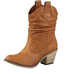 short cowboy boots