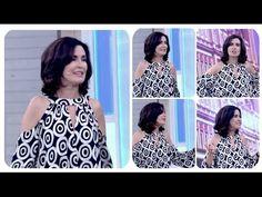 #Veda7 Como cortar blusa Fátima Bernardes Alana Santos Blogger - YouTube