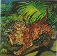 Leopard - Antonio Ligabue