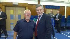 Twitter / NimrodWilson: Gordon Brown in Kilwinning ...