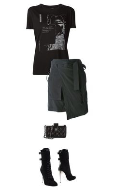 """""""Untitled #1521"""" by beststylist ❤ liked on Polyvore featuring A.F. Vandevorst, Balmain and Chanel"""