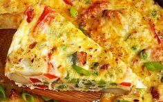 Sigur o sa-ti placa nebunia asta de arome. E gata in 20 de minute! Halloumi Burger, Romanian Food, Cooking Recipes, Healthy Recipes, Food Tasting, 30 Minute Meals, I Foods, Quiche, Main Dishes