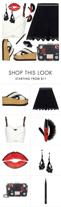 """""""OOTD"""" by petalp ❤ liked on Polyvore featuring Isabel Marant, Zimmermann, Barbara Bui, Givenchy, Alberta Ferretti, RED Valentino and MAC Cosmetics"""