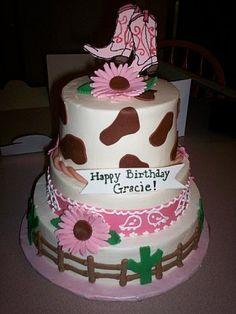 Cowgirl cake b-day-ideas