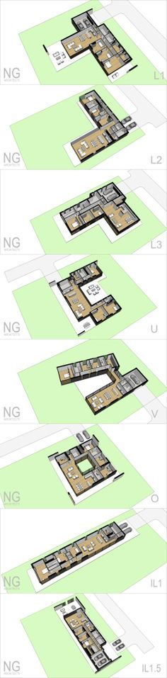 modern house plans www.ngarchitects.lt