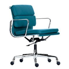 Soft Pad Alu Group EA 217 made by Vitra designed by Charles & Ray Eames £2750 pounds worth of classic design