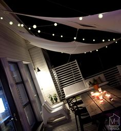 Of Venice with its own terrace - White Harmaja Outdoor Spaces, Outdoor Living, Outdoor Decor, Outdoor Ideas, Decorating Blogs, My Dream Home, Outdoor Gardens, Living Spaces, Decoration