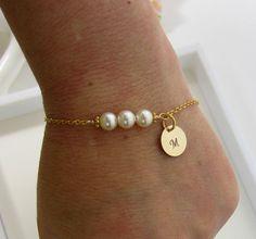 Personalized Custom bracelet, Initial Bracelet, friendship bracelet, bridal party bracelet, bridal jewelry