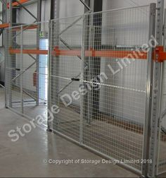Security cage built into apex pallet racking by Storage Design Limited Storage Design, Pallet Racking, Layout, Cage, Building, Projects, Home Decor, Log Projects, Blue Prints