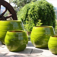 Pot Cancale en terre cuite émaillée, coloris Bambou Ø 14 x H. 14 cm http://www.truffaut.com/produit/pot-cancale-en-terre-cuite-emaillee-coloris-bambou-14-x-h-14-cm/111975/25253