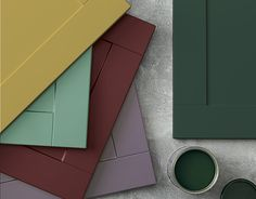 Let your imagination run wild and create a colour palette that expresses who you are. Our Burford Paintable range is now available with cabinet doors that are ready to be painted in the colour of your choice. Design your dream kitchen at Howdens.