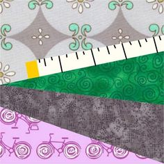 Looking for your next project? You're going to love Measure Twice Paper Pieced Pattern by designer Quiet Play.