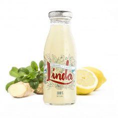 La tienda online gourmet y delicatessen Érase un gourmet tiene a la venta este zumo de limón elaborado con limonada, jengibre, Stevia y agua, sin conservantes, marca Linda.