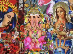 Ernesto Muñiz y su mundo collage