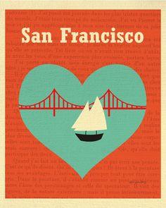 San Francisco, California - Heart