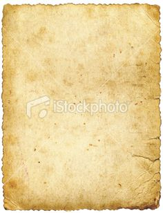 large old paper isolated Royalty Free Stock Photo#16255478