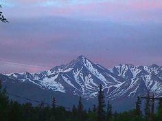 Somewhere between Palmer & Wasilla, Alaska