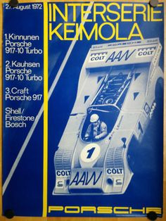 1972-INTERSERIE-KEIMOLA-ORIGINAL-FACTORY-PORSCHE-POSTER