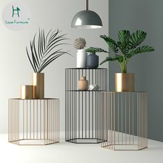 Hausschmaus Hexagonal Metal Side Table Using Blinds For Coloring Metal Furniture, Modern Furniture, Home Furniture, Furniture Design, Table Furniture, Modern Sofa, Furniture Stores, Furniture Websites, Furniture Vintage