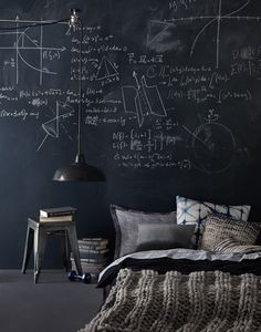 Bedroom and Mathematics   Yatak Odası ve Matematik