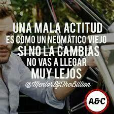 Tener una actitud positiva es fundamental para poder alcanzar todos tus objetivos #anabelycarlos #actitudpositiva #exito #cambia