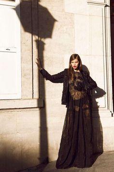 Gothic Femme Fatale Editorials : Emily DiDonato Vogue Mexico
