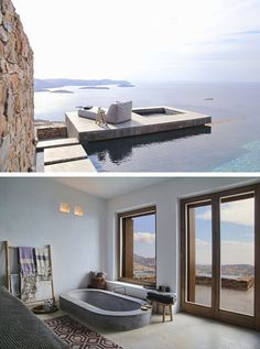 A GREEK SUMMER HOME WITH STUNNING SEA VIEW | style-files.com | Bloglovin'