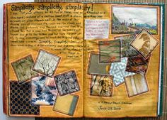 Art Journal: Simplicity