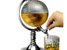 Globe Shaped Beverage Dispenser
