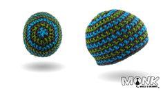 Mütze häkeln - Hook Beanie - Farbwechsel - (ohne Innennaht)
