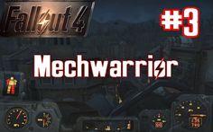 Fallout 4 Play Raw #3 Mechwarrior Deluxe Gameplay German Deutsch