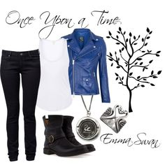 Emma Swan, created by dingoesatemybaby on Polyvore