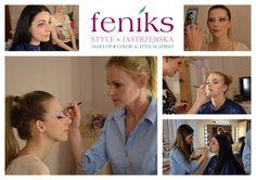 Makijaż fantazyjny w Akademii   Atelier Wizerunku Feniks Style Make Up, Color, Style, Atelier, Swag, Colour, Makeup, Beauty Makeup, Bronzer Makeup
