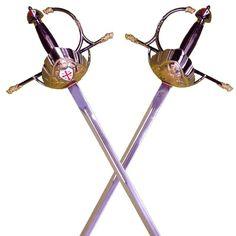 Espada mosqueteros | Espadas roperas de taza | Tienda Medieval