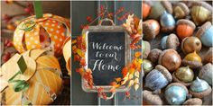These cute DIYs bring all your fall favorites (leaves! pumpkins! apples!) into the house.