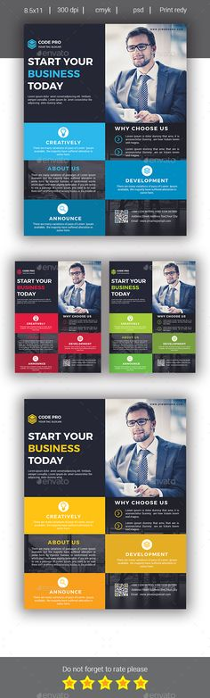 Corporate Business Flyer Template PSD. Download here: https://graphicriver.net/item/corporate-business-flyer/17435763?ref=ksioks Business Flyer Templates, Flyer Design Templates, Business Card Design, Business Cards, Corporate Flyer, Corporate Business, Arrow Art, Conception, Flyers