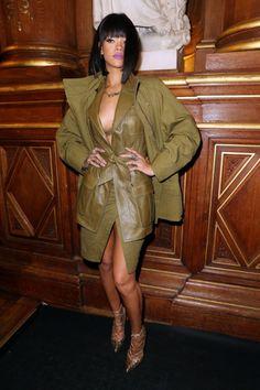 Rihanna lors du défilé Balmain !