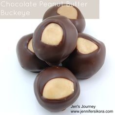 Chocolate Peanut Butter Buckeye