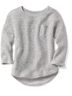 French-Terry Sweater for Girls