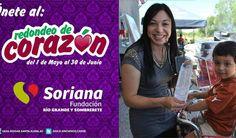 REDONDEO DE CORAZON 2016 En tiendas Soriana de Rio Grande y Sombrerete Zacatecas. de 1 de Mayo al 30 de Junio de 2016. #casahogarsantaelena #asilodeancianos #asilo #ancianos #adultosmayores